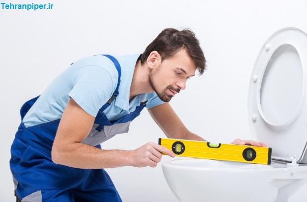 هزینه نصب توالت فرنگی